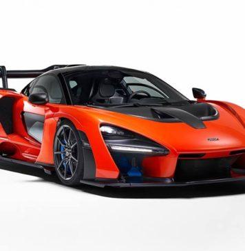 McLaren Senna supercar