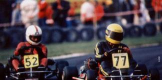 Ayrton Senna in Karting