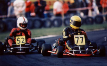 Ayrton Senna in Karting