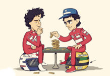 Senna and Prost game