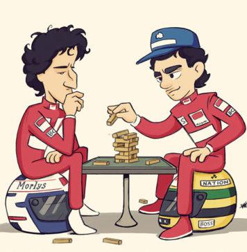 Senna and Prost game