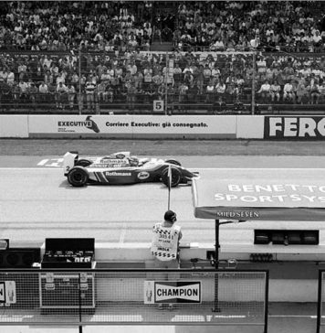 Ayrton Senna at Imola