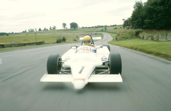 Ayrton Senna in Formula 3 - 1983