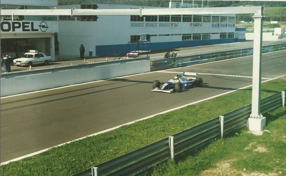Ayrton Senna Portugal test