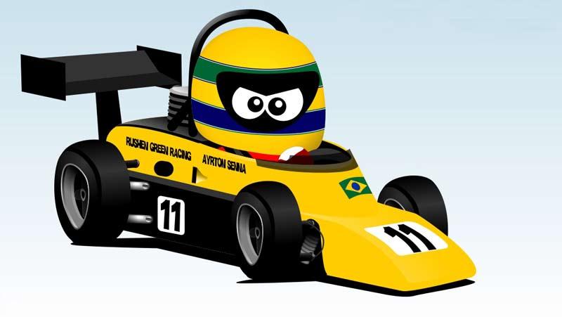 Ayrton Senna FF2000