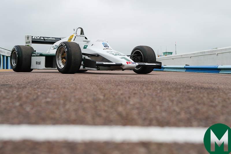 Senna Williams test car