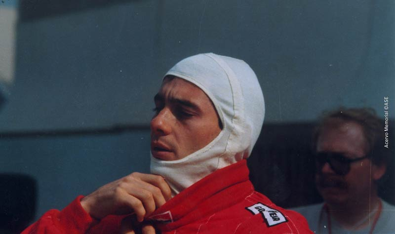 Ayrton Senna in France