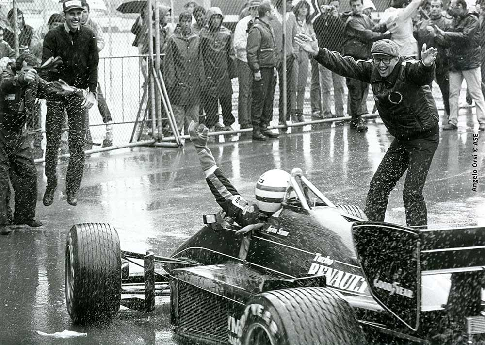 Portuguese Grand Prix winner: Ayrton Senna
